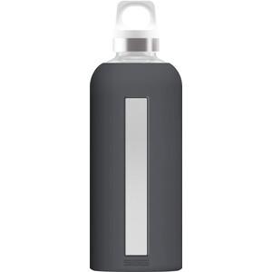 Sigg Star Botella de cristal 500ml, gris gris