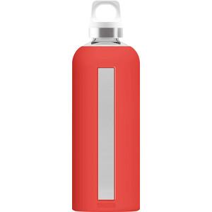 Sigg Star Lasijuomapullo 850ml, punainen punainen