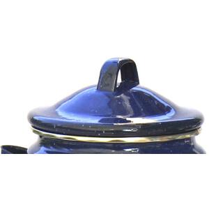Relags Ersatzdeckel für Emaille Kaffeekanne 1,8l blau blau
