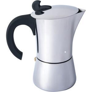 Basic Nature Edelstahl Espressokocher 4 Tassen