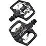 KCNC AM Trap-TI Clipless Pedals Dual Side svart