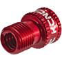 KCNC Ventil Adapter Presta zu Schrader red
