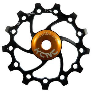 KCNC Jockey Wheel Original SS Bearing Long Teeth 13 Zähne black black