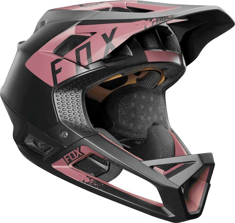 Fox Proframe Mink Helmet Women Women dusty rose M   56-58cm 2018 Fahrradhelme