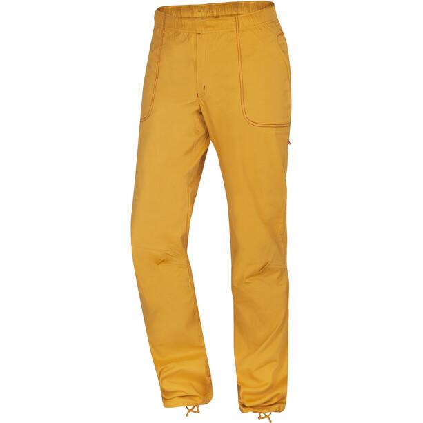 Ocun Jaws Hose Herren golden yellow