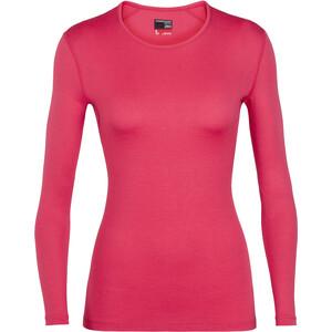 Icebreaker 260 Tech Langarm Rundhalsoberteil Damen pink pink