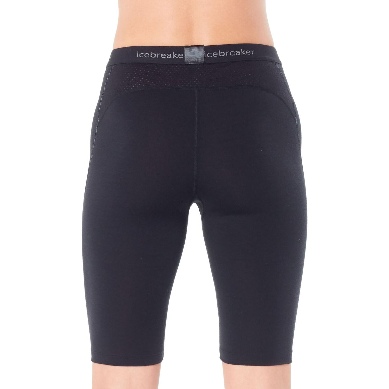 Icebreaker 200 Zone Shorts Damen black/mineral