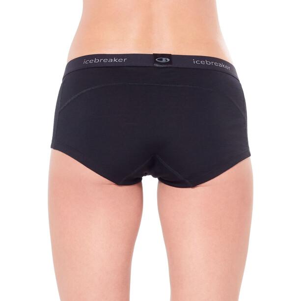 Icebreaker 200 Oasis Boy Shorts Damen schwarz