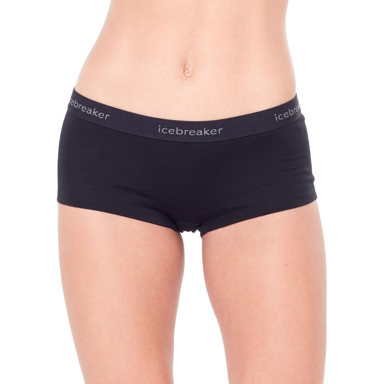 Icebreaker 200 Oasis Boy Shorts Damen black