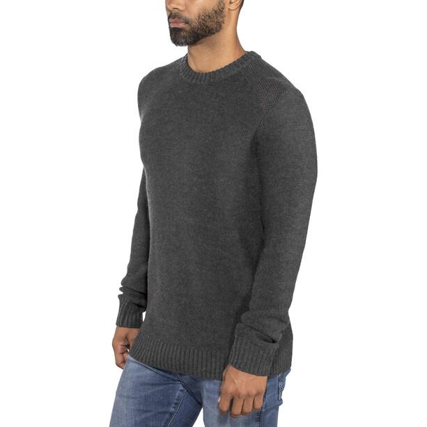 Icebreaker Waypoint Crew Sweater Herren charcoal heather