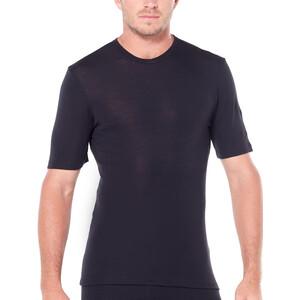 Icebreaker 175 Everyday Lyhythihainen Pyöreäkauluksinen T-paita Miehet, musta musta