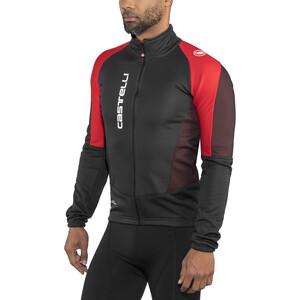 Castelli Mortirolo V Jacket Herr black/red black/red