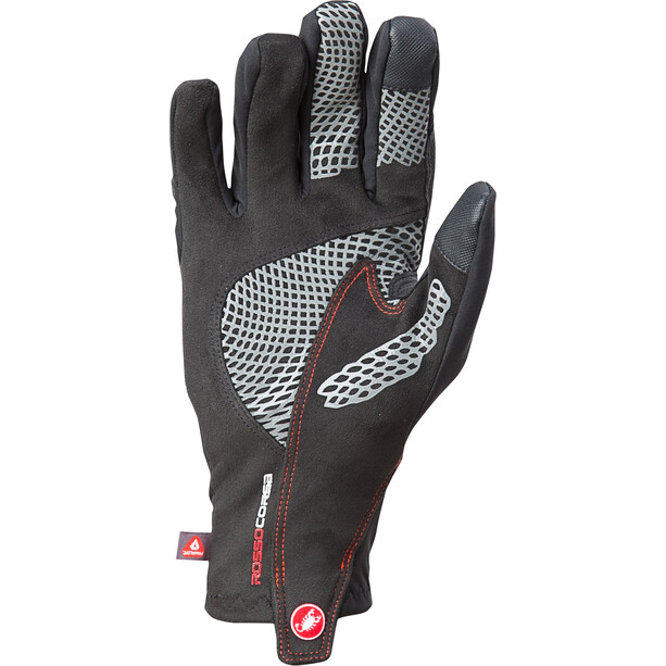 Castelli Spettacolo Ros Handschuhe black/red