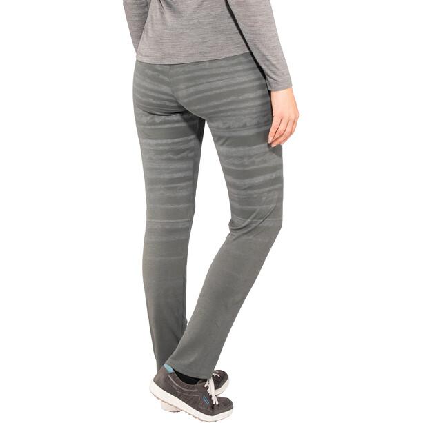 E9 Leg Hemp Hose Damen grau