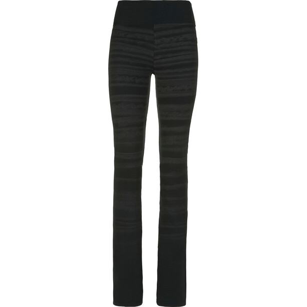 E9 Leg Hemp Pants Dam black