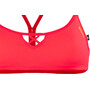 arena Be Bandeau Top Damen fluo red-yellow star