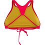 arena Think Crop Top Damen fluo red-yellow star