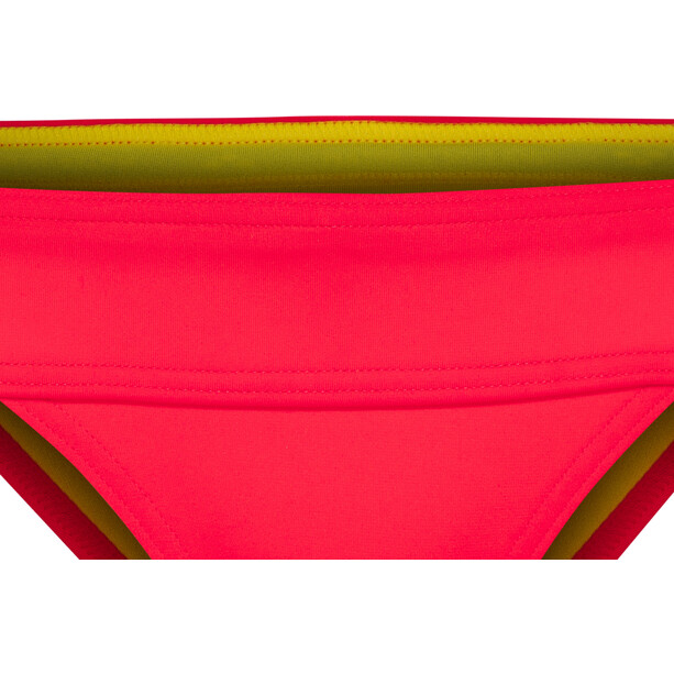 arena Desire Bikini Slip Damen fluo red-yellow star