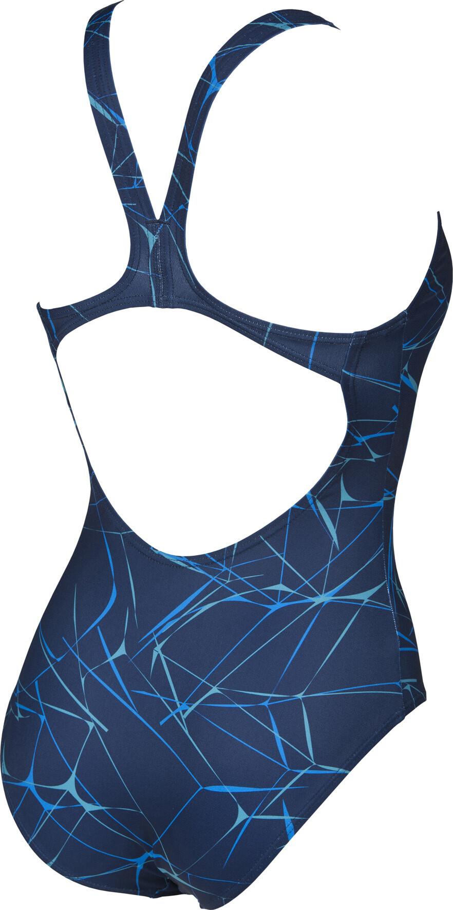 Arena water swim pro costume da bagno donna blu su addnature - Costumi da bagno arena ...