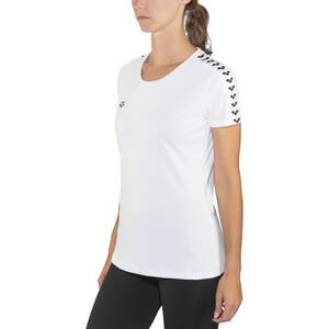 arena Team T-Shirt Damen white-white-black white-white-black
