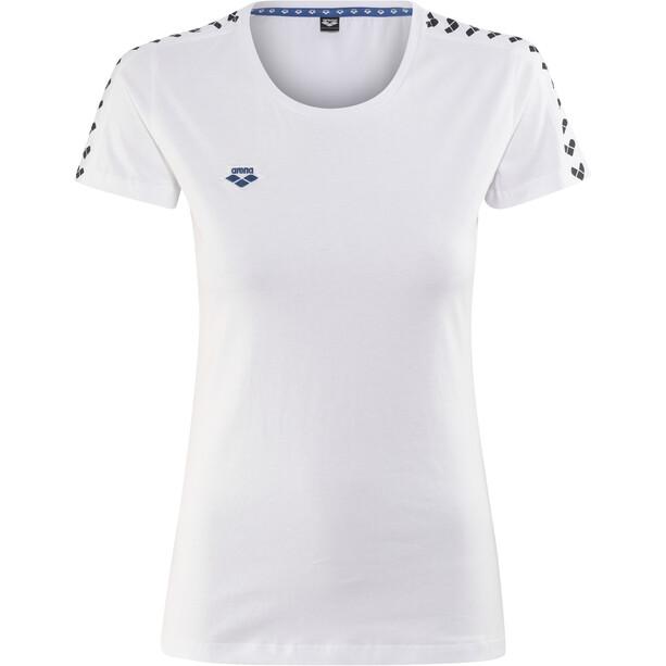 arena Team T-Shirt Damen white-white-black