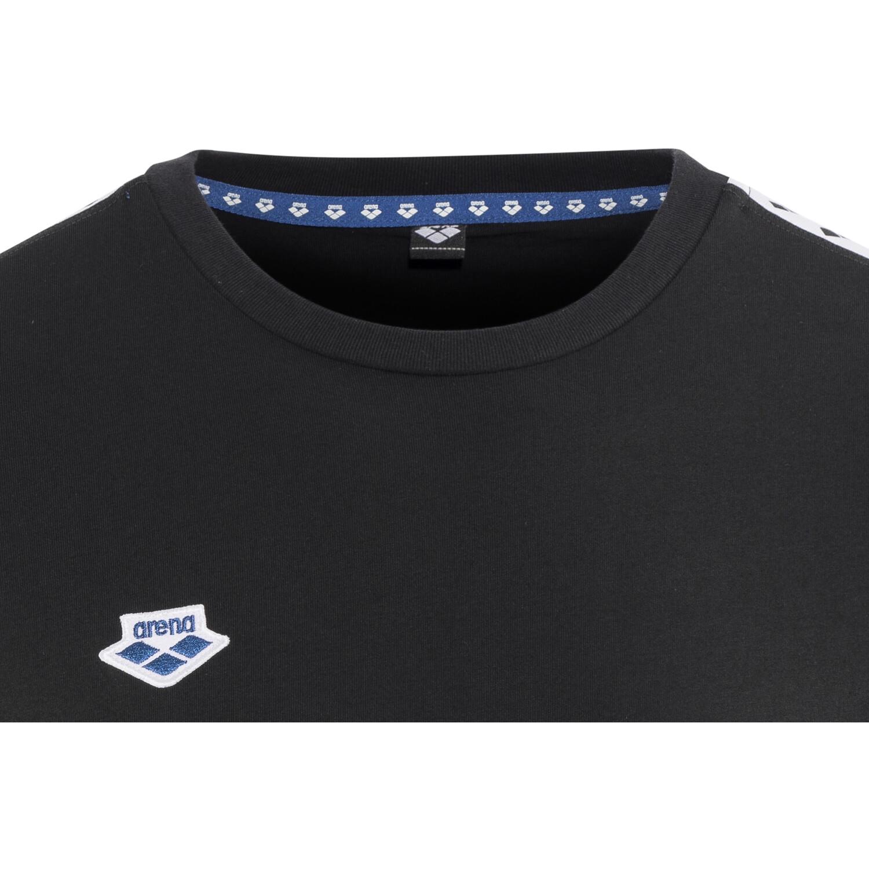 arena Team T-Shirt Herren black-white-black