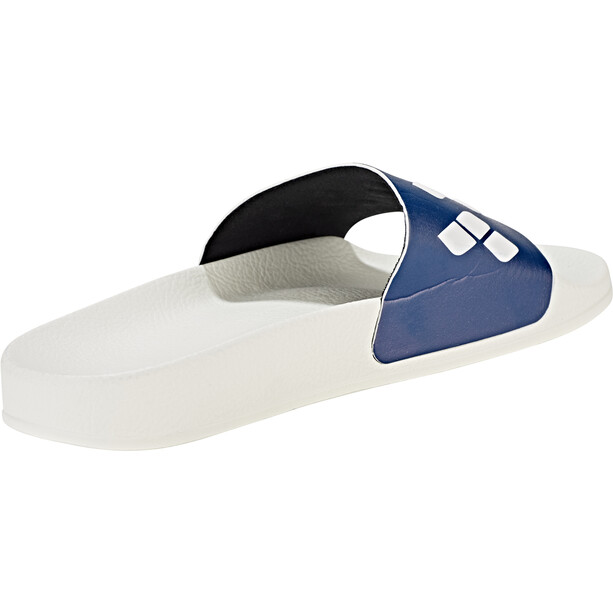 arena Team Stripe Slide Sandalen white-navy-white