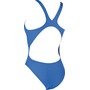 arena Solid Swim Tech High One Piece Badeanzug Damen royal-white