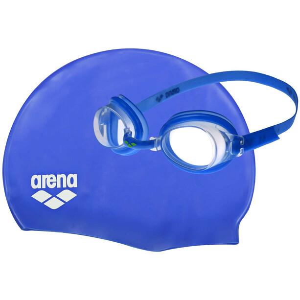 arena Pool Set Kinder blue-clear-blue-white