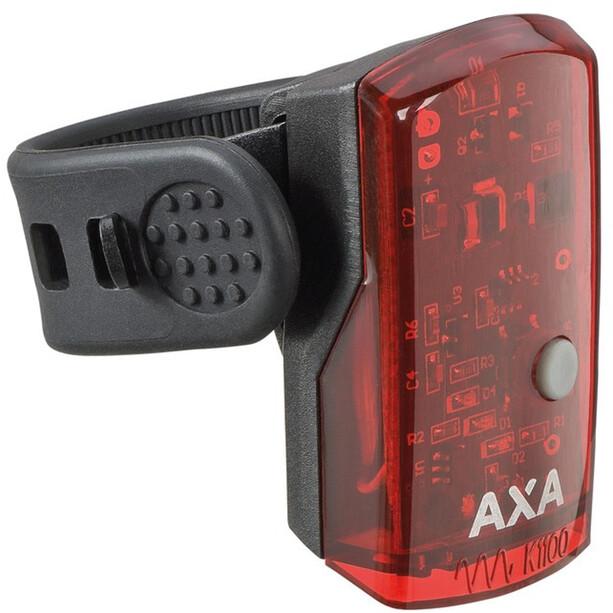Axa 1 LED Akku-Rücklicht inkl USB Kabel schwarz