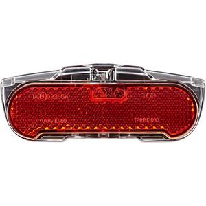 Axa Slim Steady Dynamobaglygte til bagageholder, rød rød