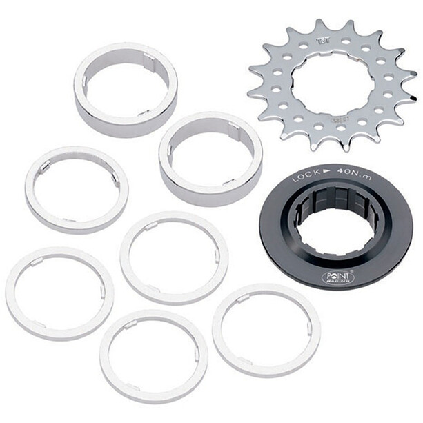 Point Single Speed Sprocket Distanzring Set