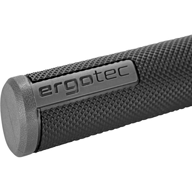 XLC Ergotec Porto MTB-ATB-Griffe 133mm schwarz/grau