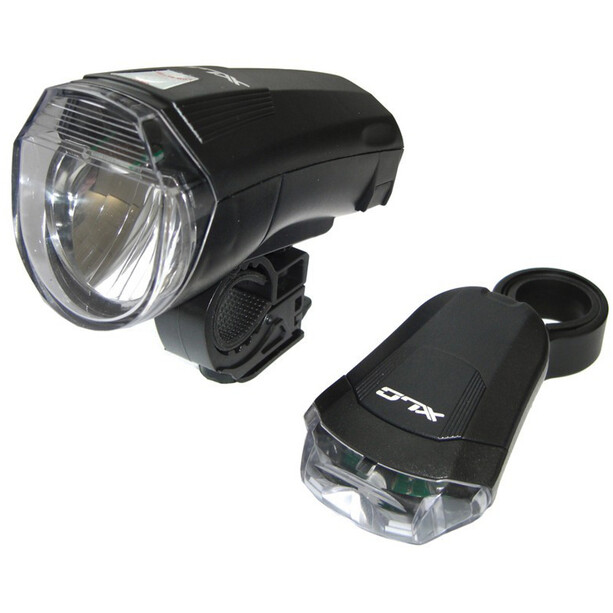 XLC CL-S14 LED Batterieleuchten Set schwarz