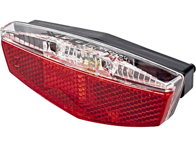 xlc porte bagages clairage v lo r flecteurs feu de position inclus rouge boutique de. Black Bedroom Furniture Sets. Home Design Ideas