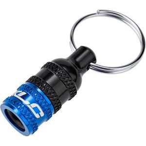 XLC Valve adapter AV (Schrader) zu Dunlop/Presta schwarz/blau schwarz/blau