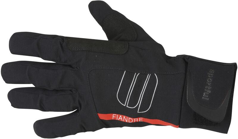Sportful Fiandre Gloves black M 2018 Accessoires, Gr. M