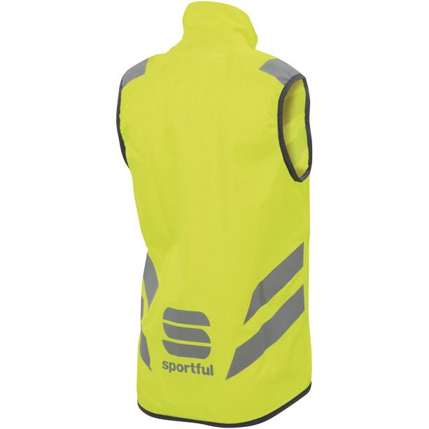 Sportful Reflex Weste Kinder yellow fluo