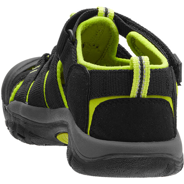 Keen Newport H2 Sandalen Kinder black/lime green