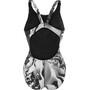 Nike Swim Geo Aftershock Fast Back Badeanzug Damen black