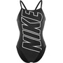 Nike Swim Lodge Racerback Badeanzug Damen black