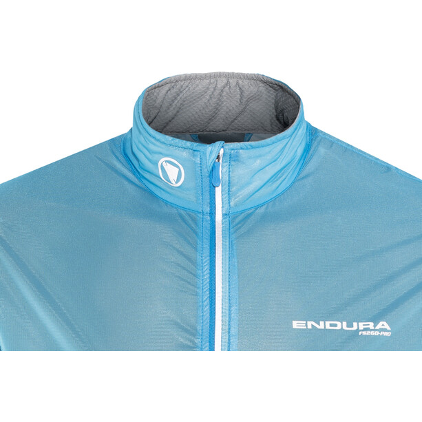 Endura FS260-Pro Adrenaline II Race Cape Homme, neon blue