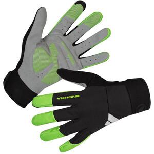 Endura Windchill Rękawiczki Mężczyźni, czarny/zielony czarny/zielony