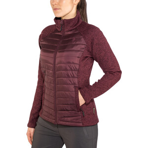 Pinewood Gabriella Padded Jacket Dam dark burgundy dark burgundy