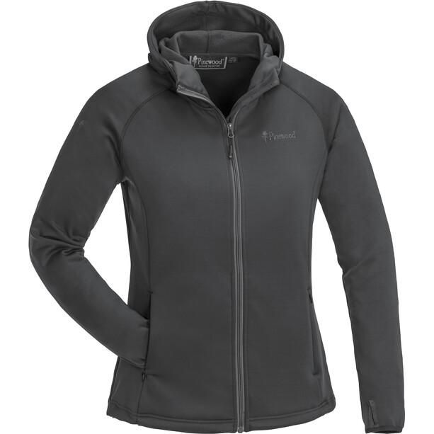 Pinewood Himalaya Activ Fleece Sweater Dam dark anthracite
