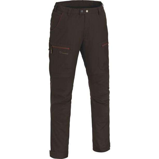 Pinewood Caribou TC Pants Herr suede brown/dark copper