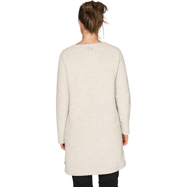 Varg Fårö Langes Wollkleid Damen off white