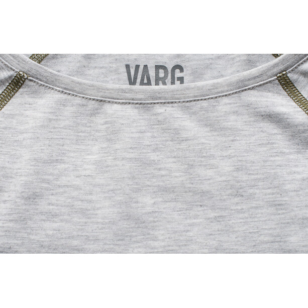 Varg Idre Baselayer Oberteil Damen grey with rubin