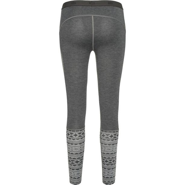 Varg Idre Baselayer Leggings Damen grey mix