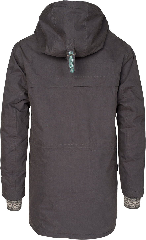 Varg Åre Parka Jacket Herr asphalt grey